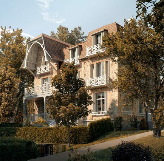 Maison Marly-le-Roi logement neuf : Promenade de Paul