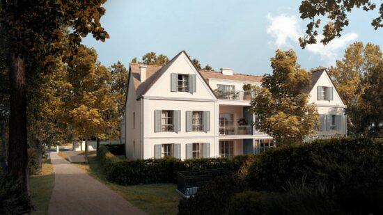 Marly-le-Roi logement neuf : Promenade de Paul - Façade bâtiment C