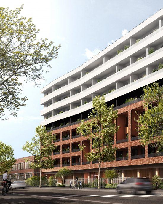 vue appartement à Bagneux immobilier construction Hibana